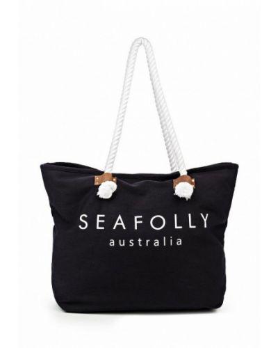 Синяя пляжная сумка Seafolly Australia