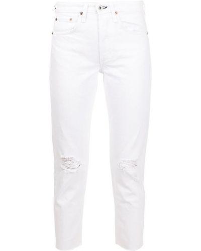 Białe mom jeans Rag & Bone
