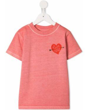 Розовая футболка в рубчик Molo