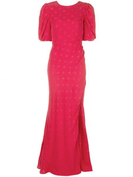 Вечернее платье с открытой спиной мини Saloni