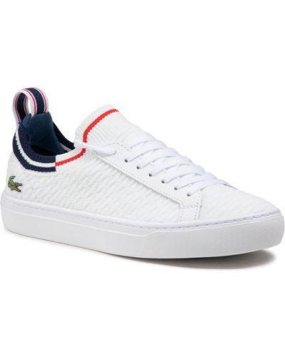 Białe tenisówki Lacoste