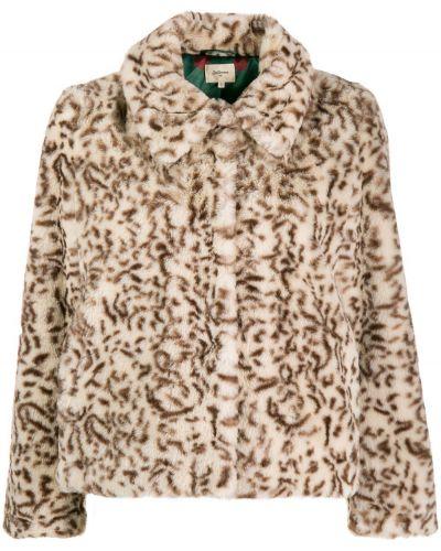 Длинная куртка леопардовая классическая Bellerose