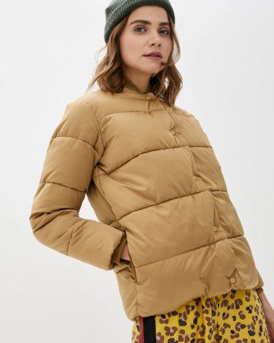 Бежевая утепленная куртка Scotch&soda