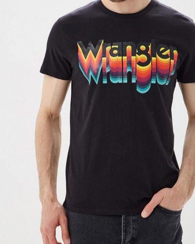Черная футболка Wrangler