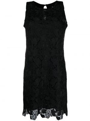 Кружевное черное платье без рукавов D.exterior
