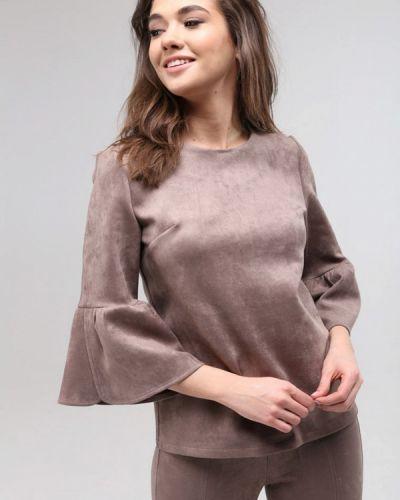 Бежевая блузка Lavana Fashion