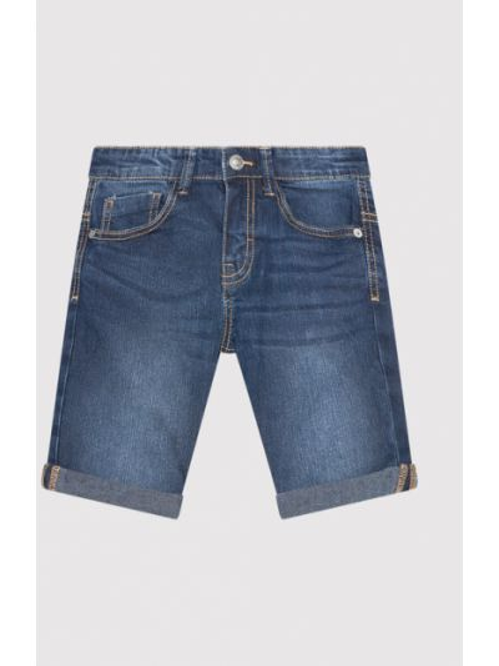 Szorty jeansowe - granatowe United Colors Of Benetton
