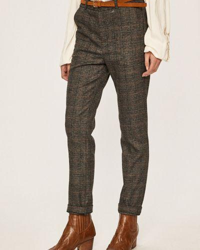 Spodnie z haftem skromny Answear
