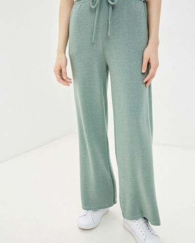 Повседневные бирюзовые брюки Tantra