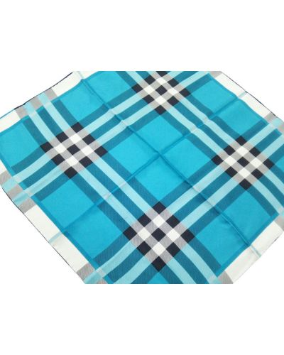 Niebieski szalik Burberry Vintage