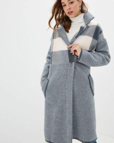 Пальто демисезонное серое Zarina