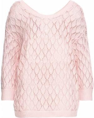 Ажурный пуловер Bonprix
