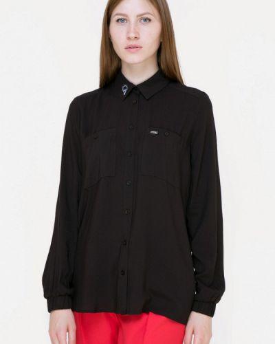 Блузка черная весенний Insideu