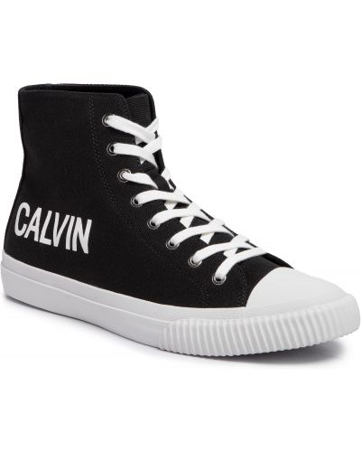 Jeansy czarny Calvin Klein Jeans