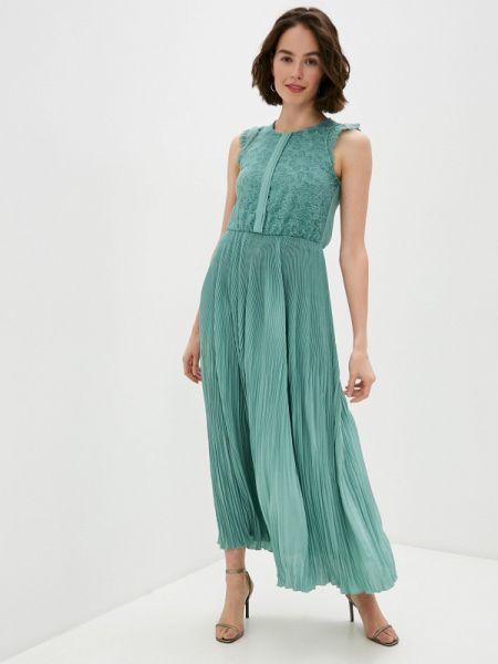 Вечернее платье зеленый весеннее Rinascimento