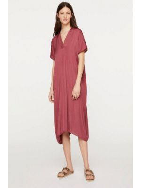 Пляжное платье розовое весеннее Oysho