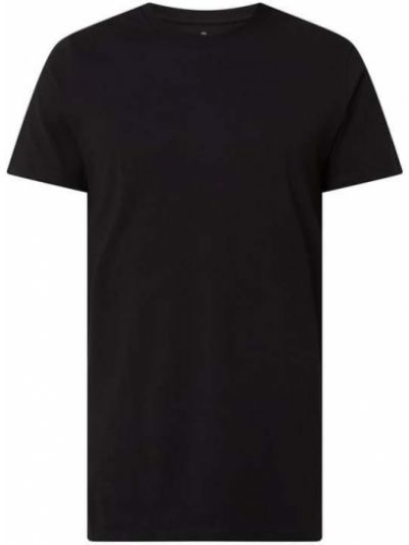 Czarny t-shirt bawełniany Raizzed