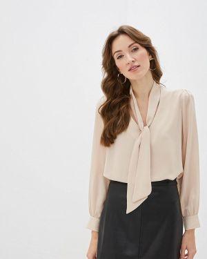 Блузка с бантом бежевый Sweewe