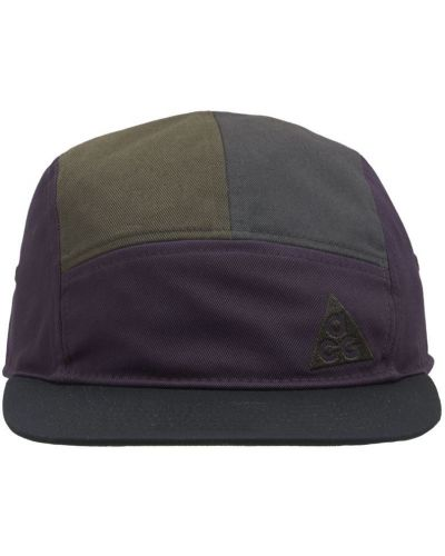 Шапка с вышивкой - фиолетовая Nike Acg