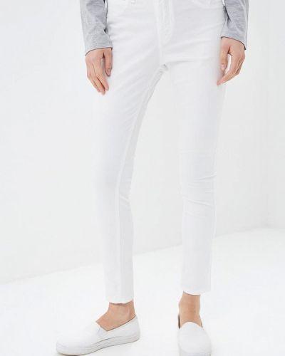 Белые зауженные брюки Phard