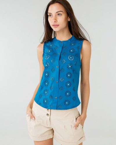 Блузка синий Ora