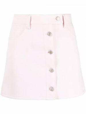 Różowa klasyczna spódnica Courreges