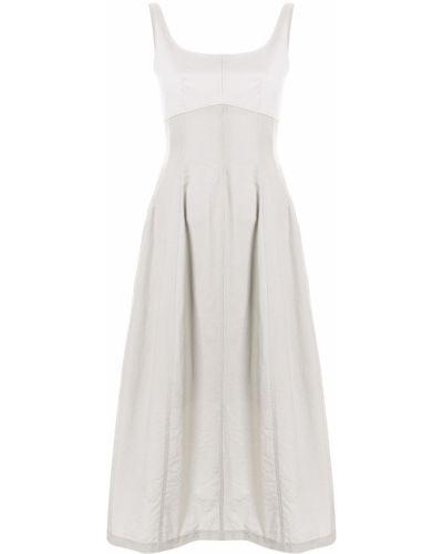 Платье миди - серое Le Ciel Bleu