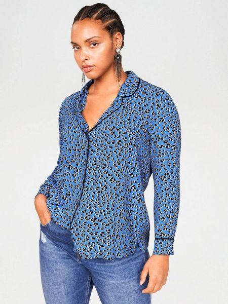 Блузка с длинным рукавом весенний фиолетовый Violeta By Mango
