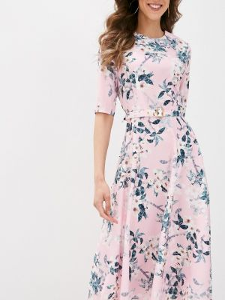 Розовое платье Royal Elegance