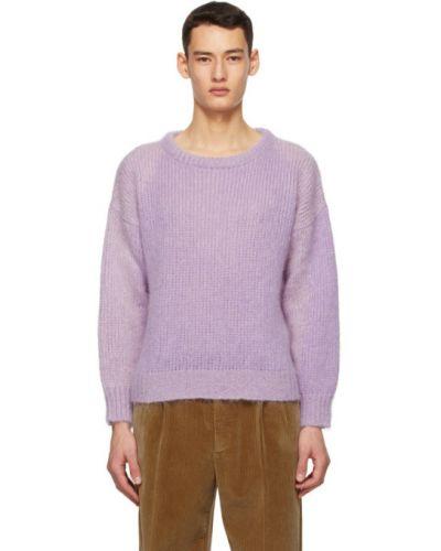 Черный шерстяной длинный свитер с воротником Gucci