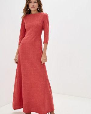 Платье розовое прямое Maurini