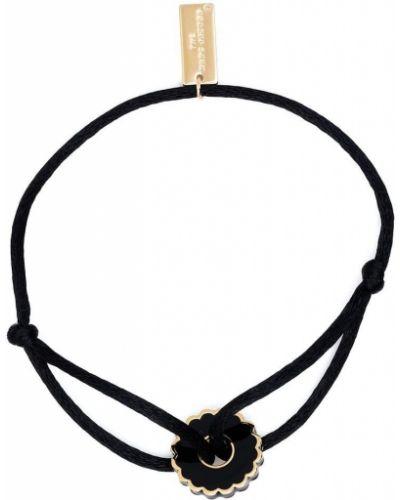 Włókienniczy medalion złoto Marc Jacobs
