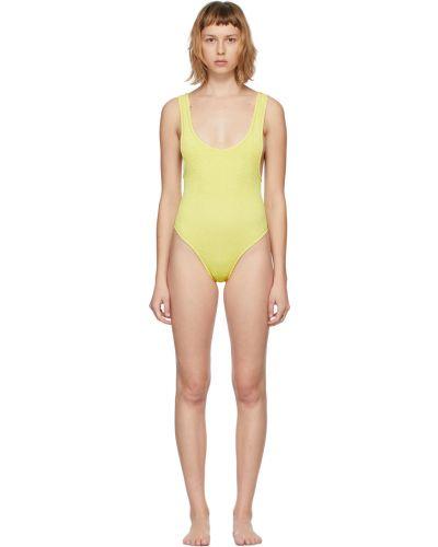 Złoty strój kąpielowy - żółty Reina Olga