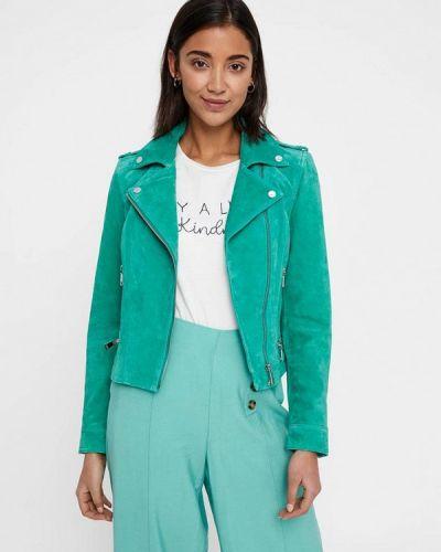 Кожаная куртка весенняя 2019 Vero Moda
