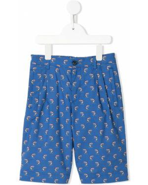 Bermudy plaża niebieski Dolce & Gabbana Kids