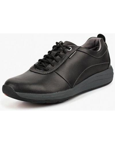 Черные кроссовки низкие Clarks