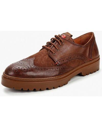 Коричневые туфли Nobrand