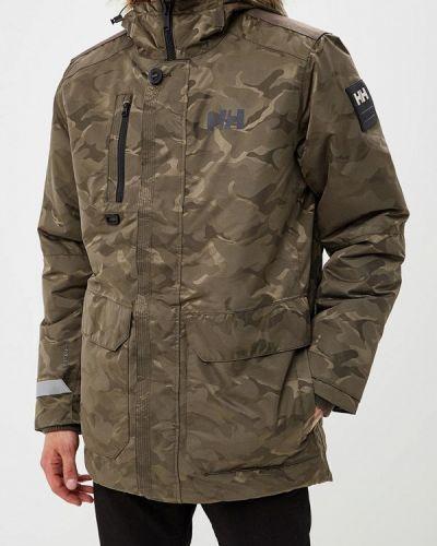 Зимняя куртка утепленная осенняя Helly Hansen