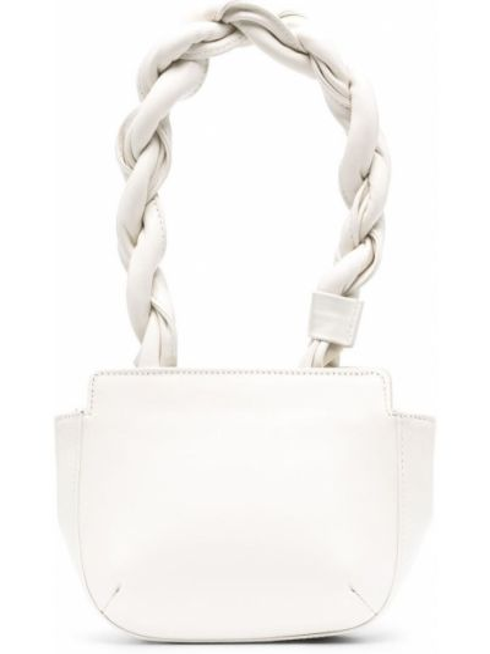 Biała torebka skórzana Reike Nen