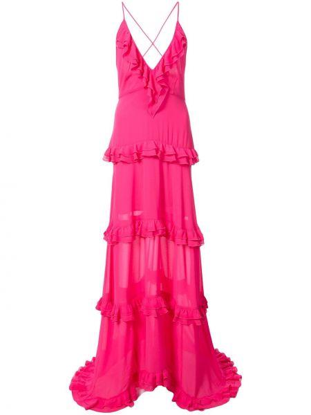 Вечернее платье - розовое Nicole Miller