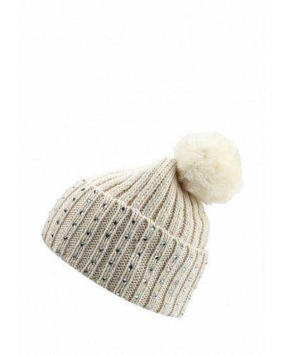 Белая шапка с помпоном Marks & Spencer