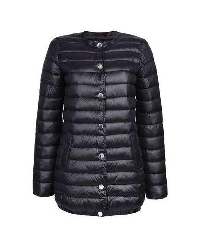 Утепленная куртка пуховая с перьями Love Republic