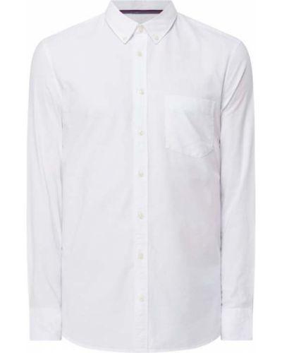 Biała koszula z długimi rękawami Montego