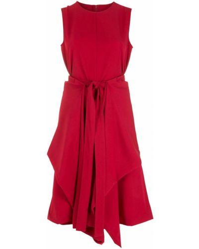 Платье без рукавов - красное Gloria Coelho
