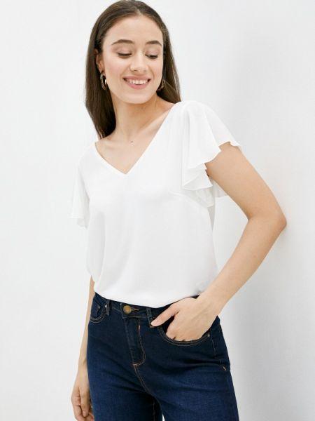 Белая блузка с коротким рукавом Wallis