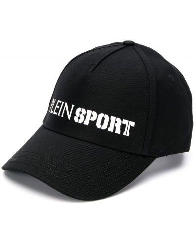 Спортивная бейсболка - черная Plein Sport