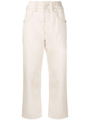 С завышенной талией хлопковые укороченные брюки на пуговицах Sofie D'hoore
