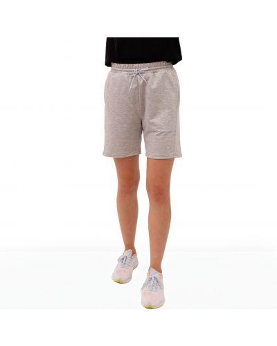Хлопковые спортивные шорты - серые Teamv