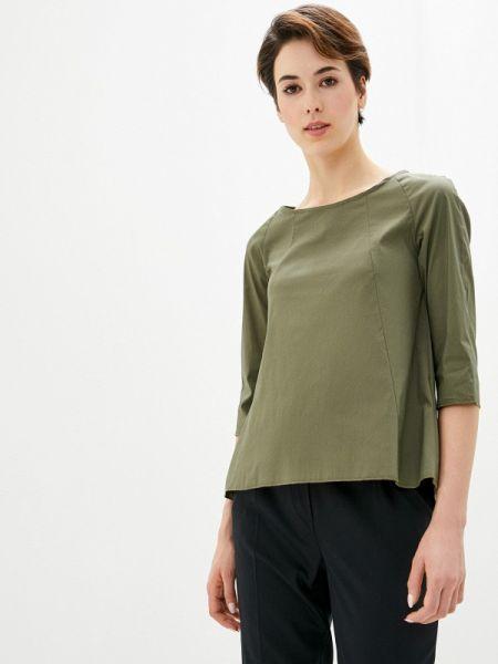 Блузка с коротким рукавом хаки Perfect J