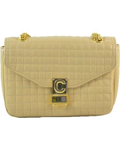 Żółta torebka Céline